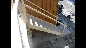 open tread staircase youtube