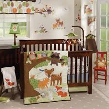 Deer Crib Sheets Woodland Tales 4 Piece Crib Bedding Set Baby Pinterest Bed