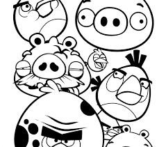 printable angry birds coloring pages amazing pics angry birds