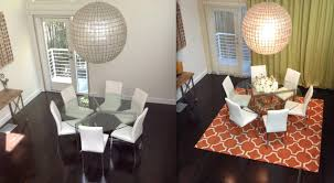 Modern Dining Room Rugs Happy Customers Modern Dining Room Los Angeles By Modern