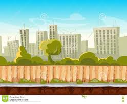 seamless city landscape cityscape vector background for