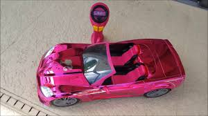 barbie corvette toy state barbie cruisin u0027 corvette r c review youtube