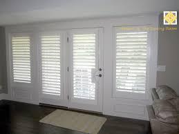 french door shutters door decoration