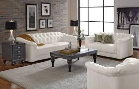 Leather Furniture Ideas - White leather sofa design ideas