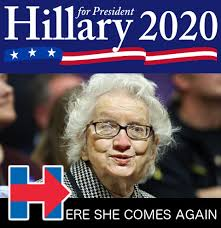 Hillary Clinton Cell Phone Meme - hillary prepares to run again in 2020 it s not over folks