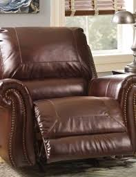 brown leather recliner with nailhead trim sofas u0026 futons