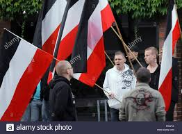 The Germany Flag Supporters Of The German Far Right Neo Party Die Rechte The