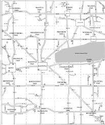 Ohio City Map Portage County Historical Society