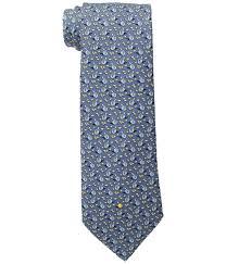 hanukkah tie vineyard vines printed tie hanukkah in blue for men lyst