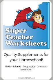 mom u0027s heart super teacher worksheets review