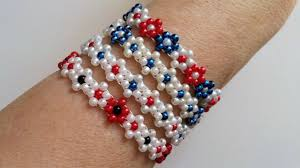 Learning To Make Jewelry - 4 bracelets 1pattern learn to make beaded flowers youtube