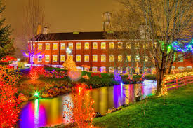 Christmas Lights Festival by Oregon Museums Association Magic At The Mill Holiday Lights