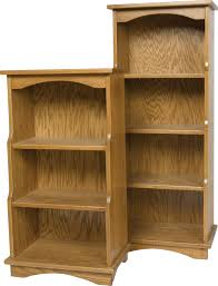 Oak Bookshelves by Carlisle Oak Bookcases And Cabinets Page 1