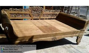 wood large daybeds bali furniture