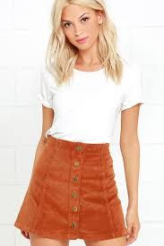 corduroy skirt white skirt brown skirt corduroy skirt 55 00