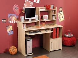 Computer Desk With Cabinets Stunning Desk With Computer Storage Alluring Home Decorating Ideas