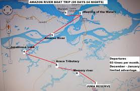 Amazon River World Map by Amazon Boat Tours Real Amazon Boat Trip
