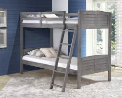 Antique White Bunk Beds Gray Bunk Bed Bunk Bed And Gray