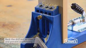 Cabinet Screws Lowes How To Use A Pocket Hole Jig Youtube
