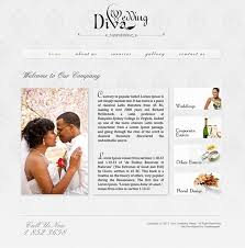wedding web wedding website psd template on behance
