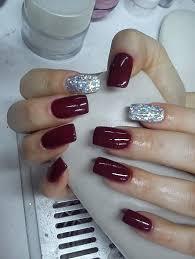 attractive acrylic nail polish design for girls nail art
