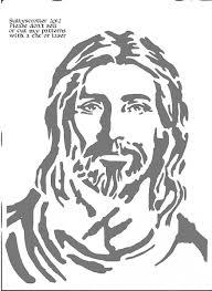 stencil drawings of jesus jesus bitmap copy religious user