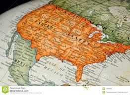 Maps Of United States by Globe Or Map Of United States Royalty Free Stock Photo Image