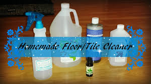 Natural Cleaner For Laminate Floors Diy Natural Floor Tile Spray Cleaner Recipe Youtube