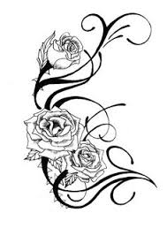rose vine tattoo google search tatoos u0026 face painting