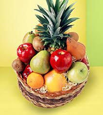 fruit baskets fruit basket standard in titusville fl floral creations by