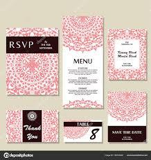 a illos de boda plantilla de invitación de boda con concepto individual diseño de