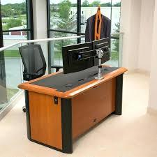 Best Computer Desk Setup Magnificent Dual Monitor Desk For House Design Express Stand