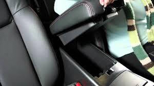 Maxima 2014 Interior 2014 Nissan Maxima Interior Storage Youtube