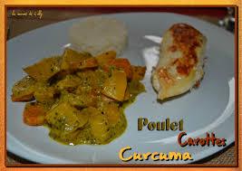 le curcuma en cuisine filet de poulet aux 2 carottes et curcuma la cuisine de lilly