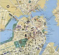 Massachusettes Map by Boston Massachusetts Map