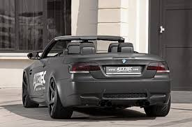 Bmw M3 Convertible - att tec u0027s gives bmw m3 convertible a stealthy look and 513 ponies