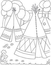 indian coloring pages fablesfromthefriends com