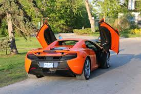 orange mclaren rear 2015 mclaren 650s thrilling and forgiving even on street