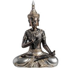 Eiffel Tower Ornaments Buddha Statue In Protection Posture From Baytree Interiors