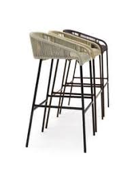Armchair Cricket Chair In Metal And For Outdoor Bar Idfdesign