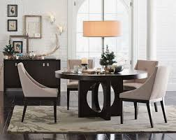exceptional round wooden table luxury cristal chandelier dining
