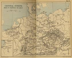 Central Europe Map by Historical Maps Of Europe