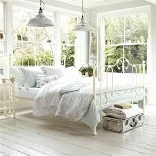 White Metal Kingsize Bed Frame White Metal Bed Frame Happyhippy Co