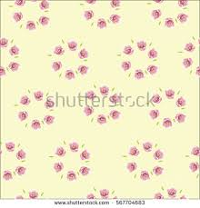 Wallpaper With Flowers Seamless Floral Pattern Flowers Texture Vector Stock Vector