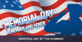 memorial phlets sles memorial day by the numbers wallethub