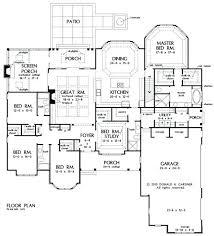 large home plans no hallway house plans floor plans central hallway house plans