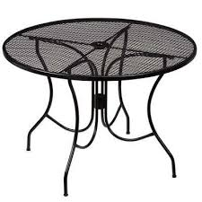 Black And White Patio Furniture Patio Dining Tables Patio Tables The Home Depot