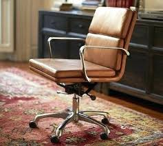 brown leather armless desk chair leather armless office chair coryc me