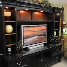 black entertainment center living room furniture u0026 design