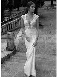 robe de mari e dentelle sirene de mariée dentelle longue blanche sirène mancheron col v